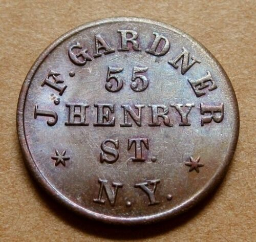 New York NY630AA-1a R5 Very Nice UNC - J.F. Gardner Leather Goods - Rare Quality