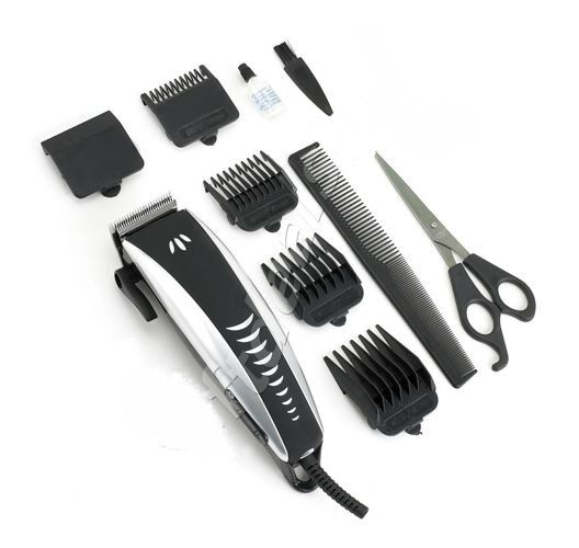 8 IN 1 ERGONOMICALLY MENS PROFESSIONAL HAIR CUTTING CLIPPER TRIMMER SHAVER NEW