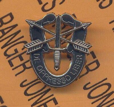 US Army Special Forces Airborne SFGA ODA crest dui beret badge Vanguard emblem