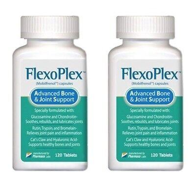 2 Btl Flexoplex Powerful Formula Naturally Rebuilds Lubricates   Soothes Joints