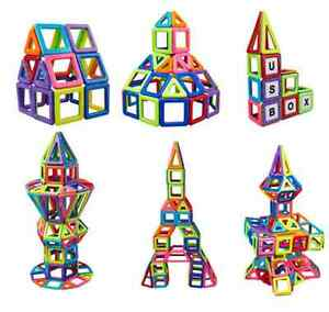 139pcs Magformers Magnetic Construction Educational Building Toys Blocks D-139Y