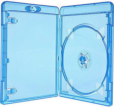 50 AMARAY Bluray single Case 11mm für 1 Disk Box Leer Hülle Hüllen