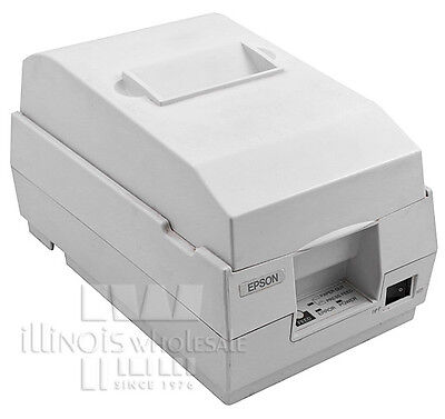 Epson Tm-u200b Pos Printer Auto-cut Micros Idn Interface Cool White