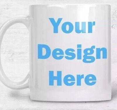 Personalized Mug White Ceramic 11oz Photo Gift Custom Coffee Cup Picture on Mug ()