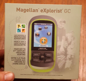 Magellan eXplorist GC Handheld GEOCACHING GPS Complete in Box