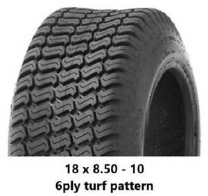"""18 X 8.50 - 10"""" TURF TYRES 6PLY - RIDE ON MOWERS/MINILOADERS/KANGA Midvale Mundaring Area Preview"""