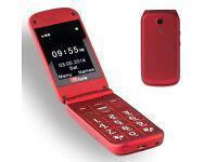 TTfone Venus TT700 Big Button Flip Sim Free Mobile Phone