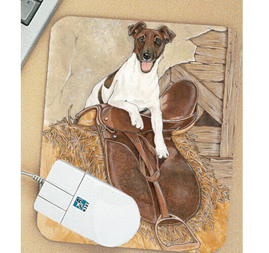Fox Terrier Smooth Mouse Pad