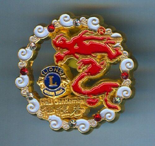 Lions Club Pins - China Dragon #07 2017 100th Anniversary