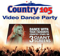 COUNTRY 105 VIDEO DANCE AT THE FENELON FAIR