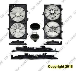 Cooling Fan Assembly 4-Cylinder Toyota Camry 2015-2017