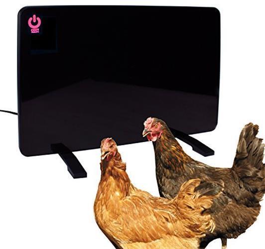 chicken coop heater Safe 200W Flat Panel Technology gentle r