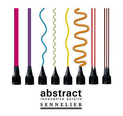 Spritztüllenaufsatz für SENNELIER abstract Acrylfarben 8-teiliges Set