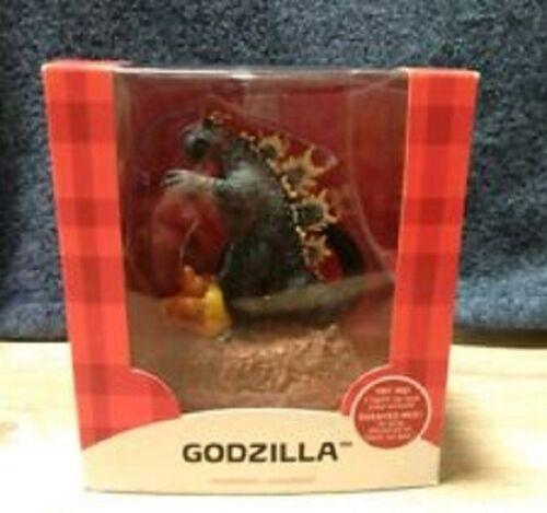 "Carlton Cards 2015 Godzilla ""Stomping"" Sound & Light Ornament new in box rare"