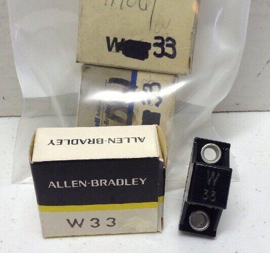 Allen-Bradley Heater Element W33 LOT OF 4
