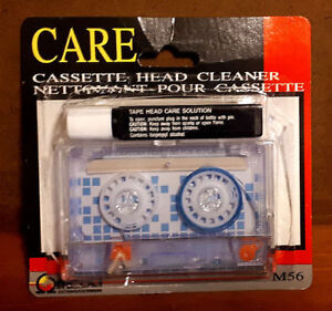 Audio Cassette Tape Head Cleaning Kit