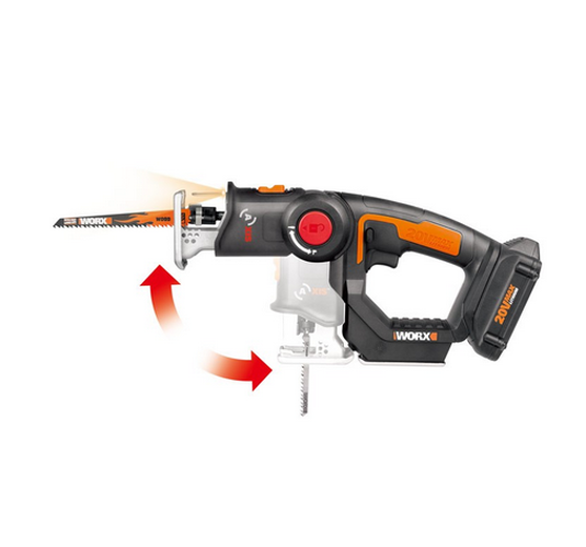 wx550l axis 20v powershare cordless reciprocating