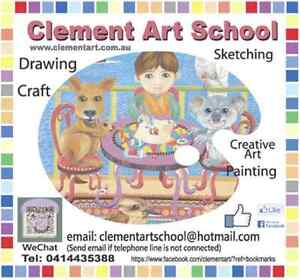 Clement Art School Art Lessons, 8 Studios across Sydney Epping Ryde Area Preview