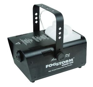 NEW! AMERICAN DJ FOG STORM 1200HD Professional ETS Fog Smoke Machine with Remote