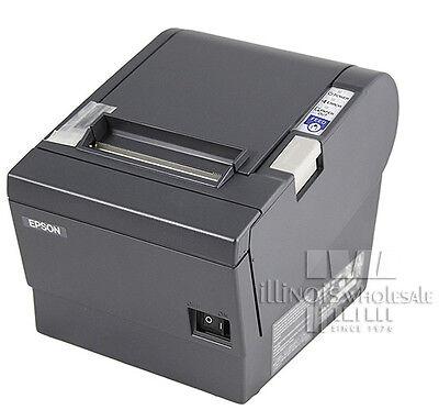 Epson Tm-t88iii Thermal Receipt Printer Micros Idn Interface Dark Grey