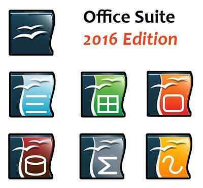 2016 Office Suite Cd For Microsoft Windows 10 8 1 7 Vista 2010 2013