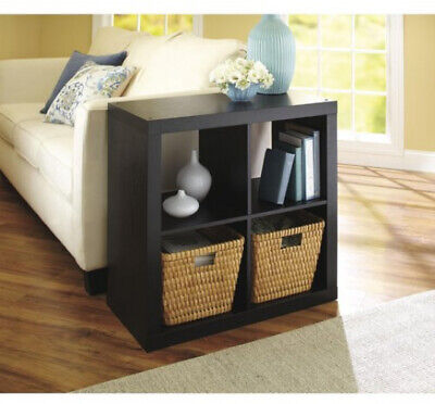 4 Cube Storage Organizer Squared Bookcase Better Homes Gardens  Multiple
