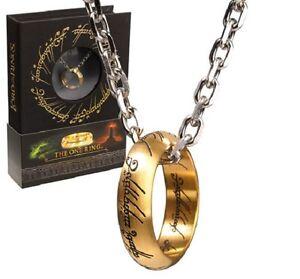 Le Seigneur des Anneaux pendentif The One Ring unique Collector Collection 01674