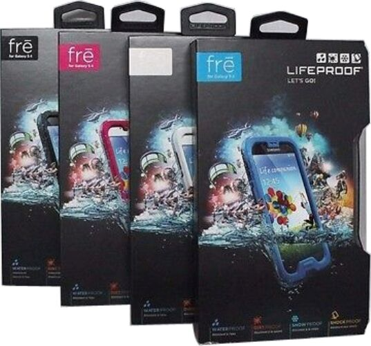 Lifeproof 1802 Fre Waterproof Case For Samsung Galaxy S4 ...