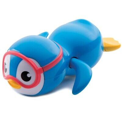 Bath Toys For Boys Swimming Pool Toddlers Girl Wind Up Tub Floating Blue Penguin
