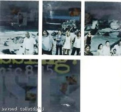 LOST SEASON 1 - FOIL OCEANIC MISSING: OCEANIC 815 - INSERT PUZZLE CARD LOT