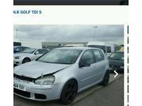 Volkswagen golf 1.9 tri for parts