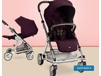 Mamas and Papas Urbo Elite Pram / Pushchair / Buggy / Travel System - suitable from birth