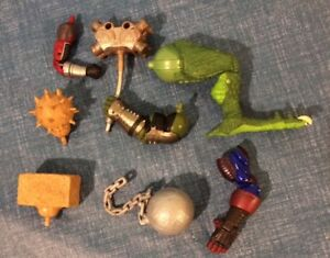7 BUILD A FIGURE PIECES (BAF) FOR ONLY $30 FIN FANG FOOM & MORE