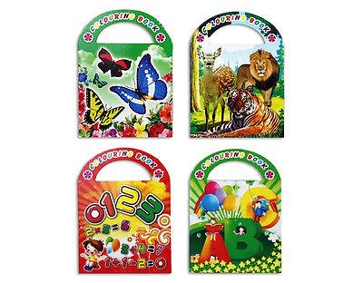 12x Malbuch mit Stickern - Mitgebsel Kindergeburtstag Party