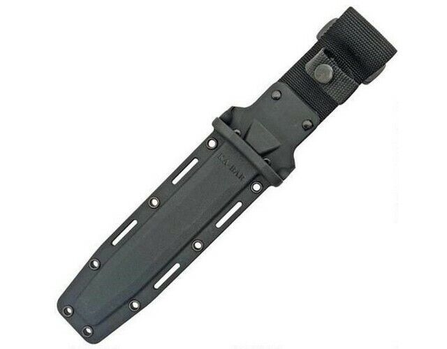 """Ka-Bar 1216 Kydex Replacement Knife Sheath Black/Glass Filled For Most 7"""" Blades"""