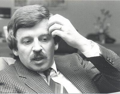 Foto vom Außenminister JÜRGEN MÖLLEMANN - SW Pressefoto Vintage von 1983 - FDP