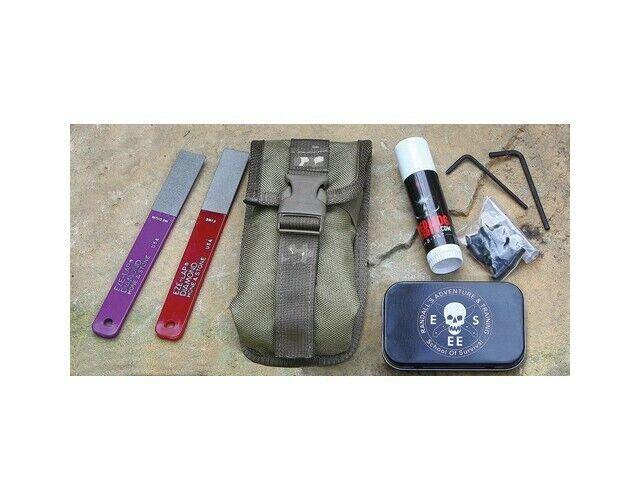 ESEE MAINT-KIT Knife Maintenance Diamond Hone Hunting Camping Tool Kit