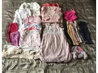 Baby Girls Bundle 0-3, 3-6 And 6-9