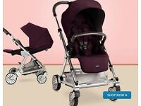 Mamas & Papas Urbo Elite Pram / Travel System / Buggy from birth with Car seat and Easybase