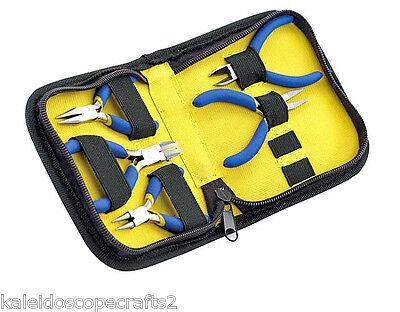 Beading Jewelry Making Tools Beadalon Beadalon Mini Pocket Tool Kit 5 Pc Case