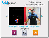 Video editing services for short marketing and personal videos