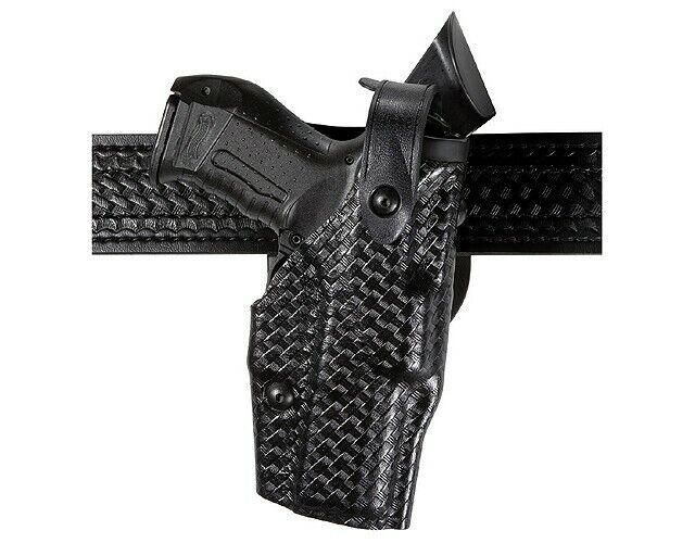 Safariland 6360-7742-131 Black RH ALS Level III Sig P220R LasTac2 Gun Holster