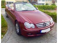 Mercedes-Benz, CLK, Convertible, 2006, Semi-Auto, 2996 (cc), 2 doors