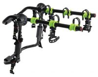 Swagman's new 3 trunk mounted Gridlock bike rack instock now