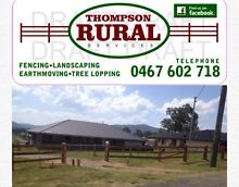 Fencing tree lopping landscaping earth moving Singleton Singleton Area Preview