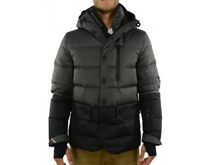 BNWT Moncler Beuvron in charcoal, size 3