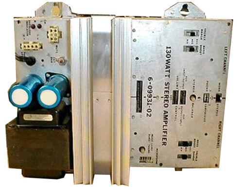 Repair & reconditioning service -Rowe 130Watt Stereo Amplifier PN 6-09931-01 -02