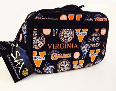 University of Virginia Cavaliers Insulated Lunch Box Can Cooler NCAA Football ()
