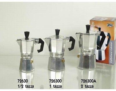 Macchina per caffè Caffettiera moka classica Cubana da 1/2 Tazza