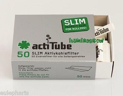 Usado, 50 FILTROS TUNE ActiTube SLIM 0,7 CARBON ACTIVO,Filtro Boquilla tabaco Liar,Pipa segunda mano  La Cañada